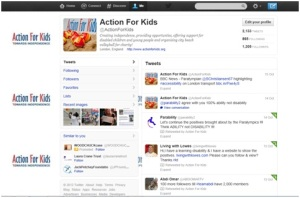 The Action For Kids Twitter Page